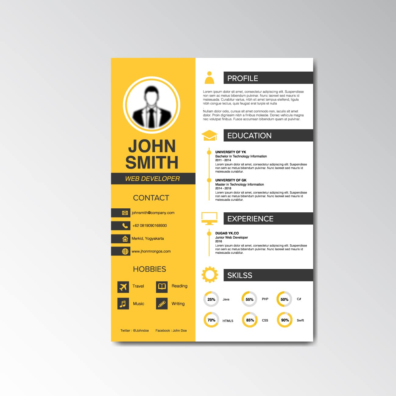 There's No Need to Pad Your Resume